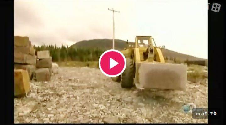 فیلم نحوه استخراج و تولید سنگ گرانیت