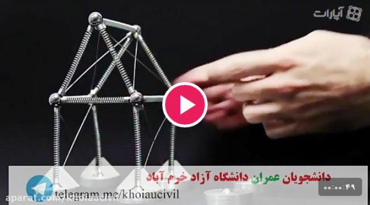 یک ویدئو بسیار خوب برای درک بهتر عملکرد خرپا