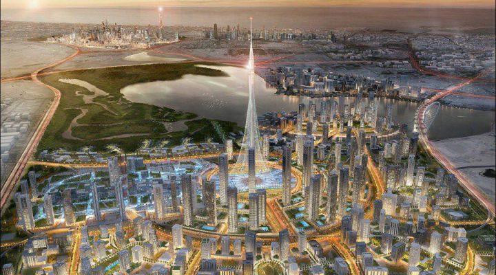 برج خور دبی، بلند ترین برج دنیا در سال ۲۰۲۰