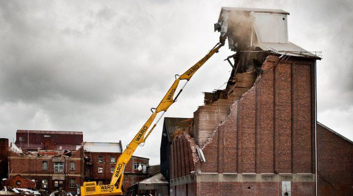 روش های تخریب ساختمان